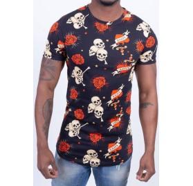 Tee-Shirt Love & Skull
