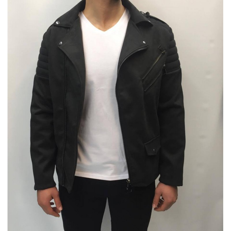 UNIPLAY VESTE BIKER 1629 référence noir boutique rfashion.fr paris c00736783c0b